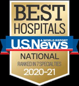 U.S. News & World Report nationally ranked